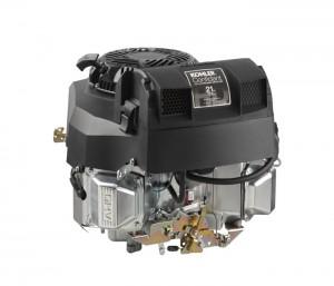 Vertical-shaft KOHLER® Confidant™ 21 horsepower twin-cylinder models (recoil or electric start).