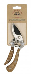 C/S 7 INCH CURVED SECATEURS