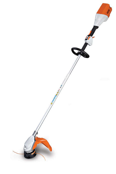 Battery Operated Weed Eater >> New Stihl Battery Powered Professional Trimmer Is Low
